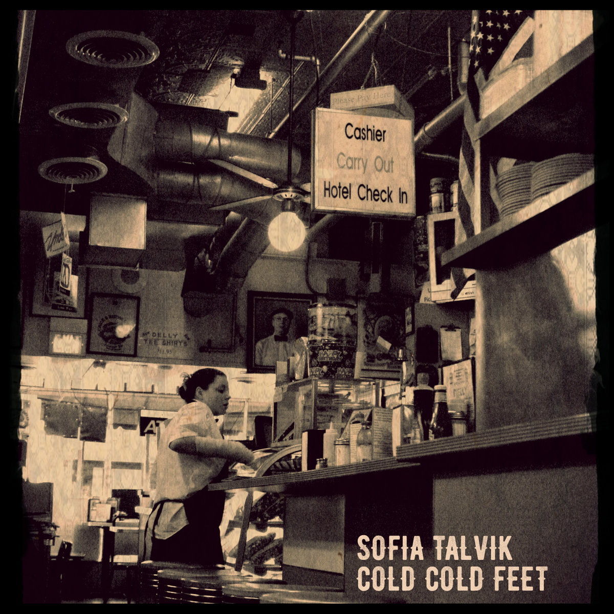 Sofia Talvik - Cold Cold Feet - Single Cover