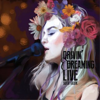 Drivin & Dreaming LIVE - Album Cover